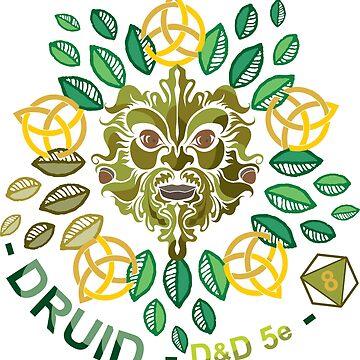 D&D Classes: DRUID by 3DApparel