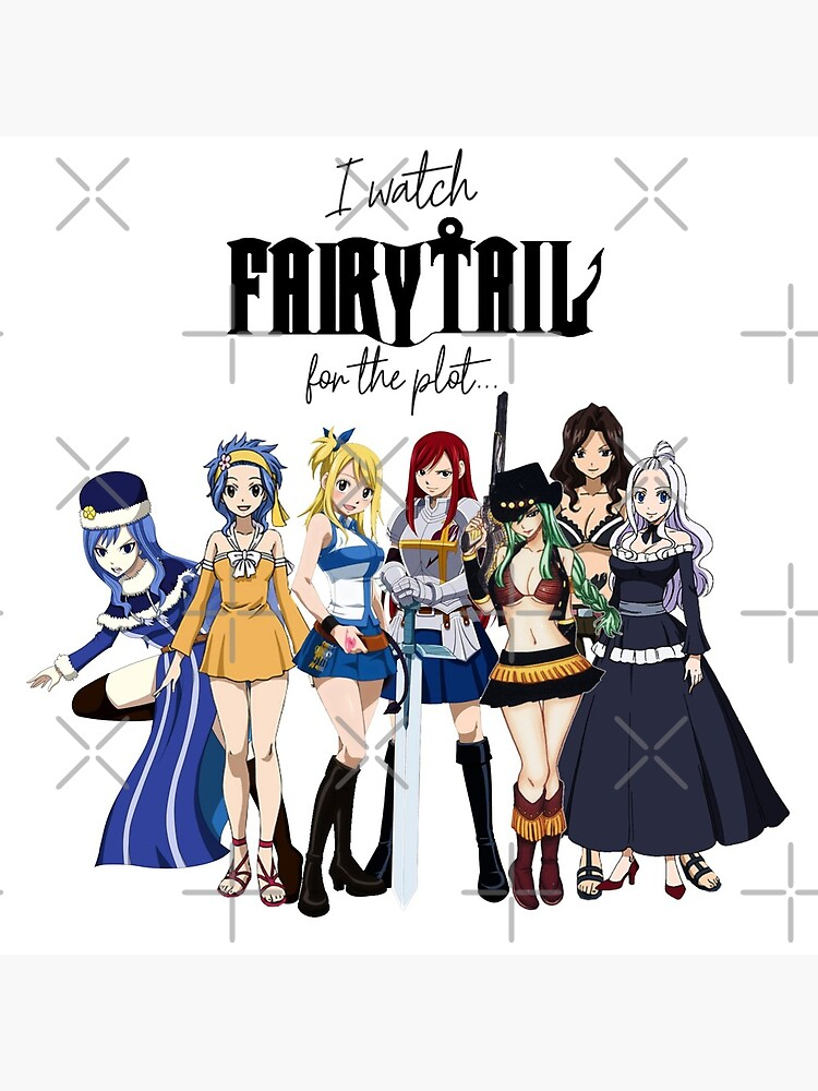 I Watch Fairy Tail for the Plot... (Girls!) by FoxGroves