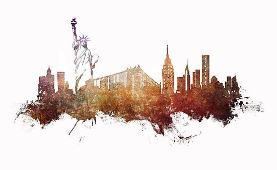 New York City - skyline by JBJart