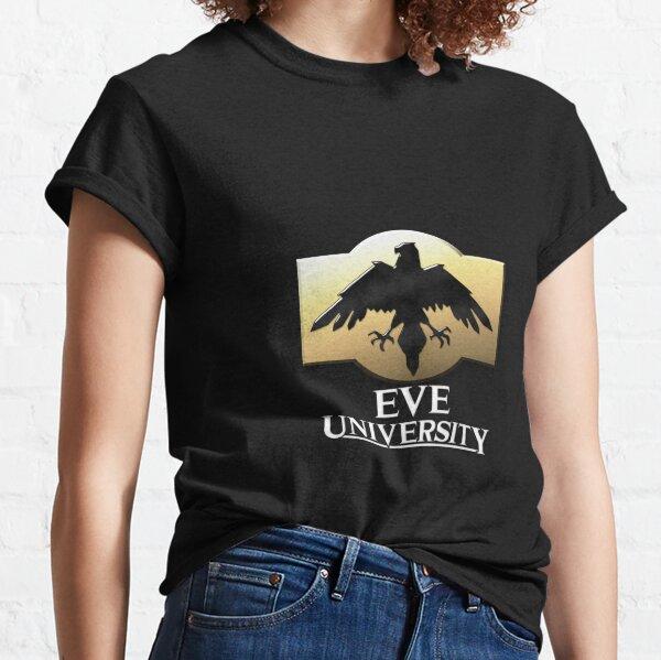 EVE University Logo - Black background Classic T-Shirt