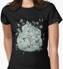 The Sleepers in that Quiet Earth Women's Fitted T-Shirt