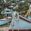 The Guptill Boat Yard  by John  Kapusta