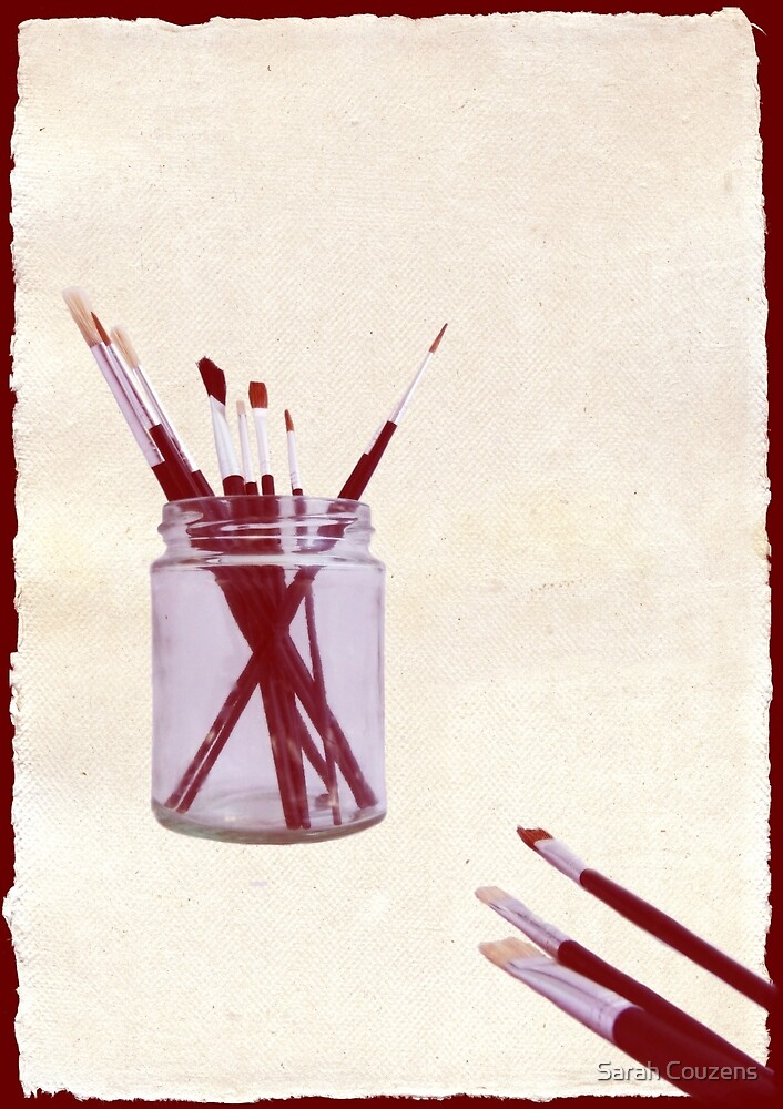 Blank Canvas | Red by Sarah Couzens