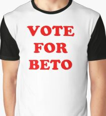 Vote for Beto Graphic T-Shirt