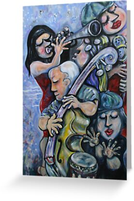 Picasso Playing The Cello by Reynaldo