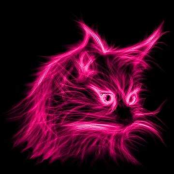 pink cat by mipe-empire