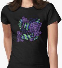 Zentangle Squishy Spirals Women's Fitted T-Shirt