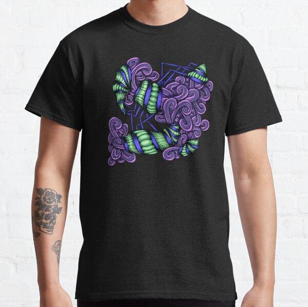 Zentangle Squishy Spirals Classic T-Shirt