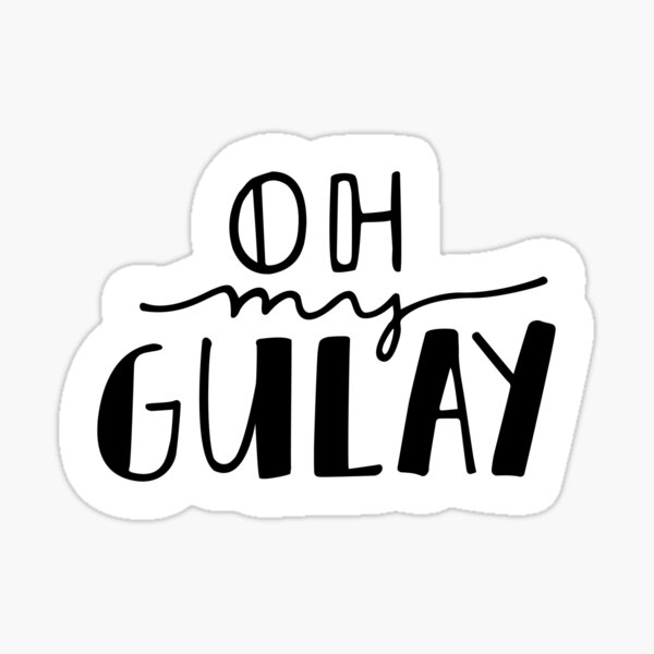 Oh My Gulay Sticker