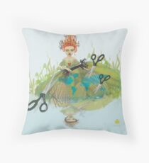 lady regina  series:  heart strings Throw Pillow