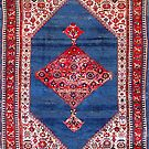 Bijar Persian Carpet by Vicky Brago-Mitchell