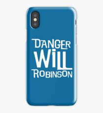 Lost In Space - Robot B9 - Danger Will Robinson iPhone Case