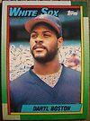 396 - Daryl Boston by Foob's Baseball Cards