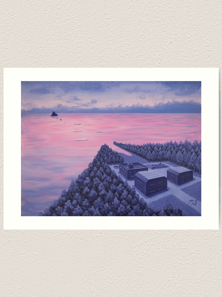 Alternate view of Route 21 Art Print
