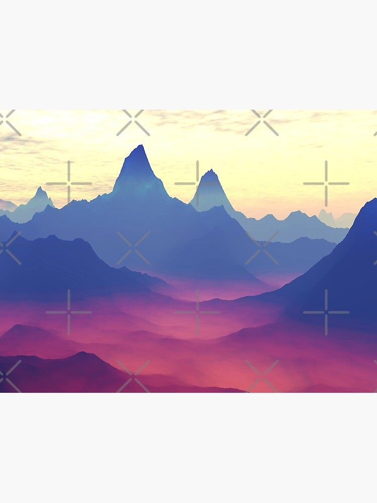Mountains of Another World by perkinsdesigns