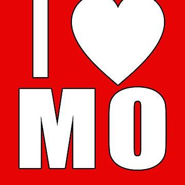I LOVE MO I HEART MO by Greenbaby