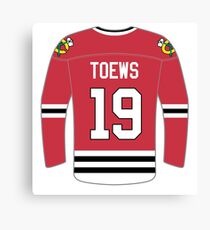 Chicago Blackhawks - Johnathan Toews Canvas Print