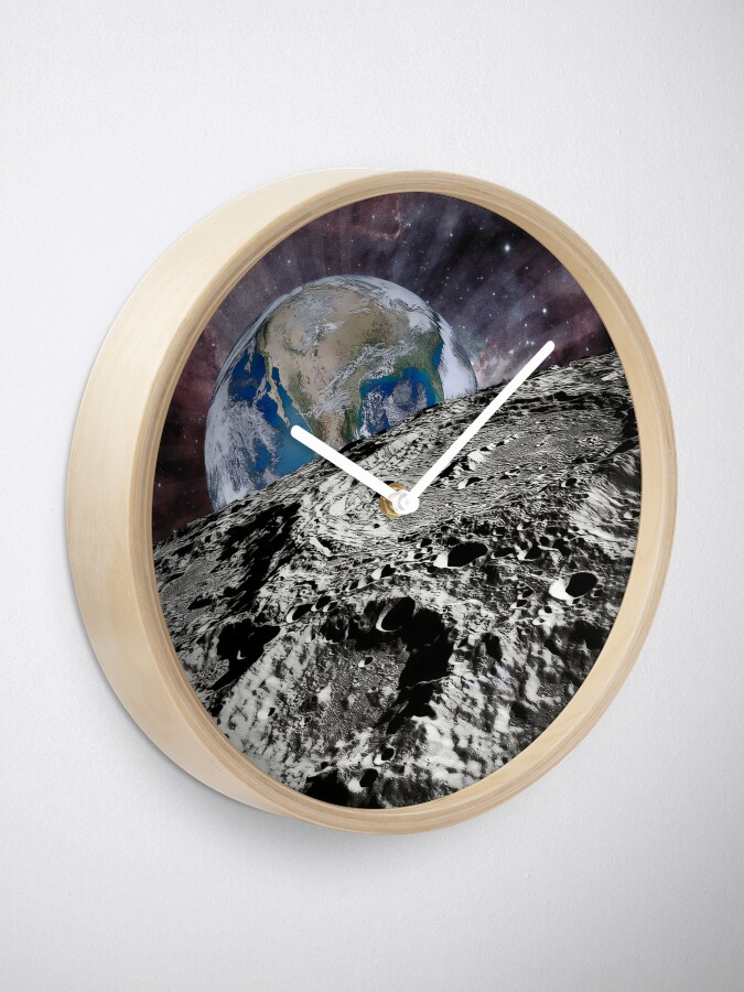 Alternate view of Beyond The Moon Clock