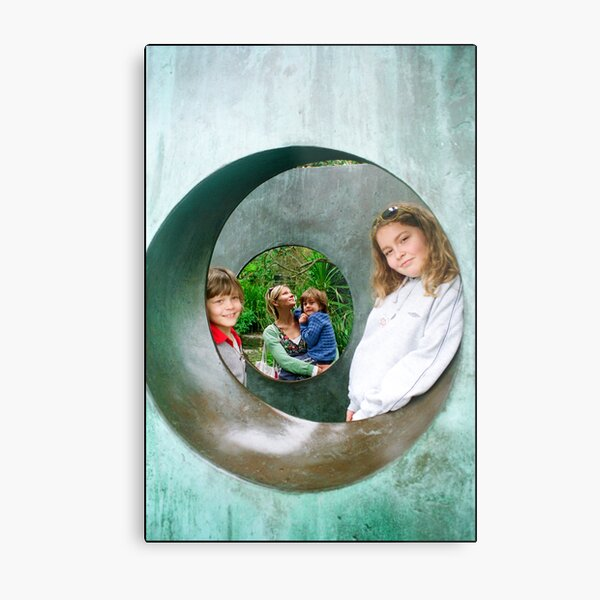 Three cousins and an aunt Metal Print