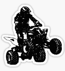 ATVblack Sticker