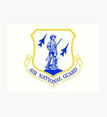 The Air National Guard (ANG) Crest Art Print