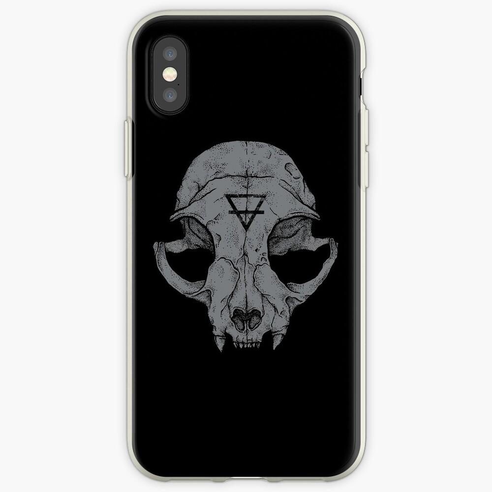 Cat Skull iPhone Case & Cover