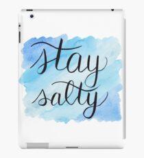 Stay Salty Saltwater Splash iPad Case/Skin