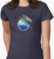 Shield potion Women's Fitted T-Shirt