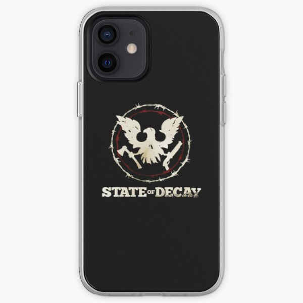 State Of Decay Logo iPhone Soft Case