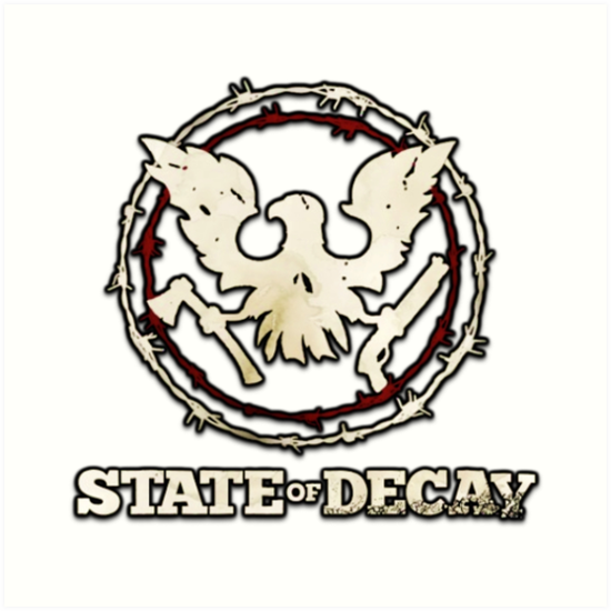 'State Of Decay Logo' Art Print by ImmortalFoxy