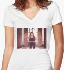Miriam - There's Something In Me Women's Fitted V-Neck T-Shirt