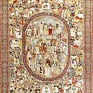 Kirman Persian Carpet by Vicky Brago-Mitchell