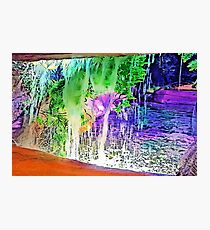 Waterfall Hideaway Photographic Print