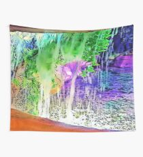 Waterfall Hideaway Wall Tapestry