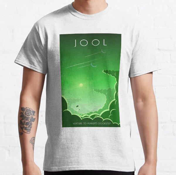 Cartel del programa espacial Kerbal - Jool Camiseta clásica