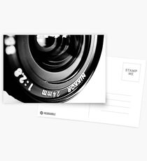 Nikkor 24mm f2.8 Postcards