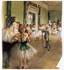 The Ballet Class Poster