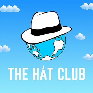 The Hat Club | LOGO + TEXT LARGE FORMAT by LuluMeki