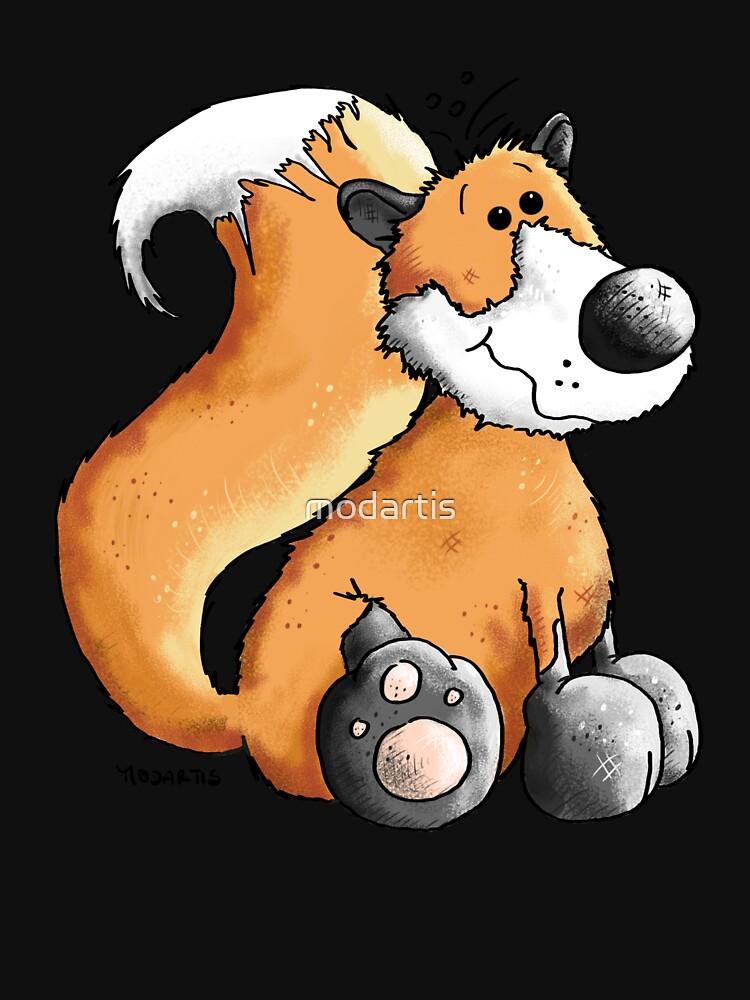 Red Fox - Woodland - Comic - Fun - Animal - Animals by modartis