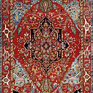 Heriz Persian Carpet by Vicky Brago-Mitchell