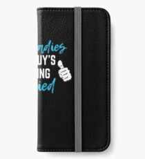 Bachelor Party Groom Gift - Sorry Ladies This Guy Is Getting Married iPhone Wallet/Case/Skin