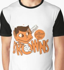 St. Louis Browns - Follow The Browns- Baltimore Orioles Graphic T-Shirt