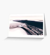 Mars - the Cold Planet Greeting Card