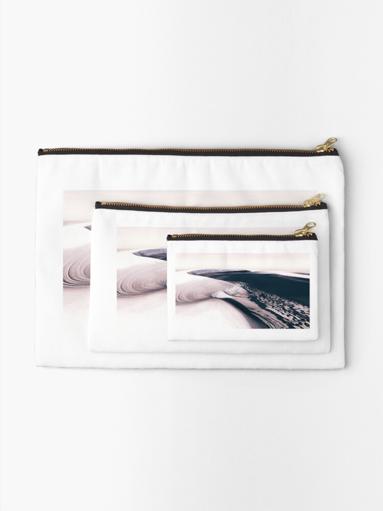 Alternate view of Mars - the Cold Planet Zipper Pouch