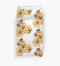 The Beehive Community  Duvet Cover