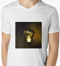 The Brightest Bulb in the Box V-Neck T-Shirt