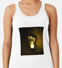 The Brightest Bulb in the Box Racerback Tank Top