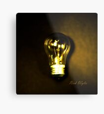 The Brightest Bulb in the Box Metal Print