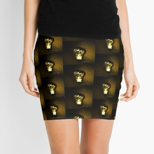 The Brightest Bulb in the Box Mini Skirt