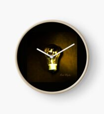 The Brightest Bulb in the Box Clock